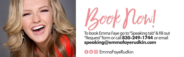 Book Emma Faye Now